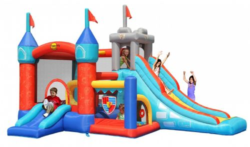 Amazing Fairytale Bouncy Castle with Ball Pit and Super Slide